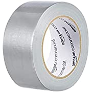AmazonCommercial Standard Duct Tape, 1.88-inch by 30-yard, Silver, 6-Pack