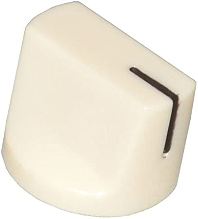 diypedalgearparts® 3x Knob Davies Clone 1510Cream Dark, Stomp Box, Pedal Effect