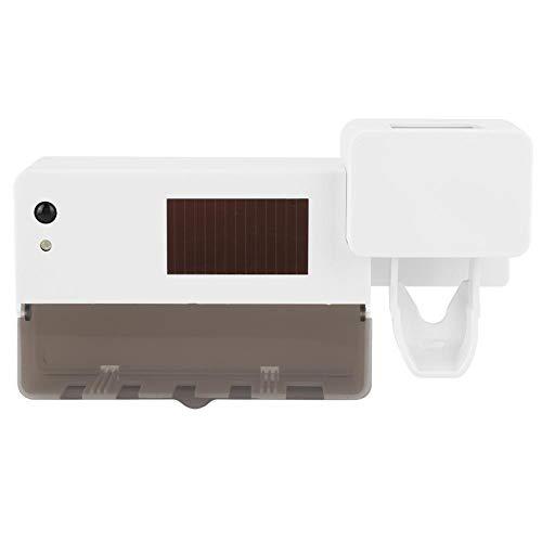 UV-tandenborstelhouder, USB Solar UV-tandenborstelhouder met sterilisatiefunctie, Automatische mondpasta-dispenser Knijper/Tandenborstelhouder voor badkamer