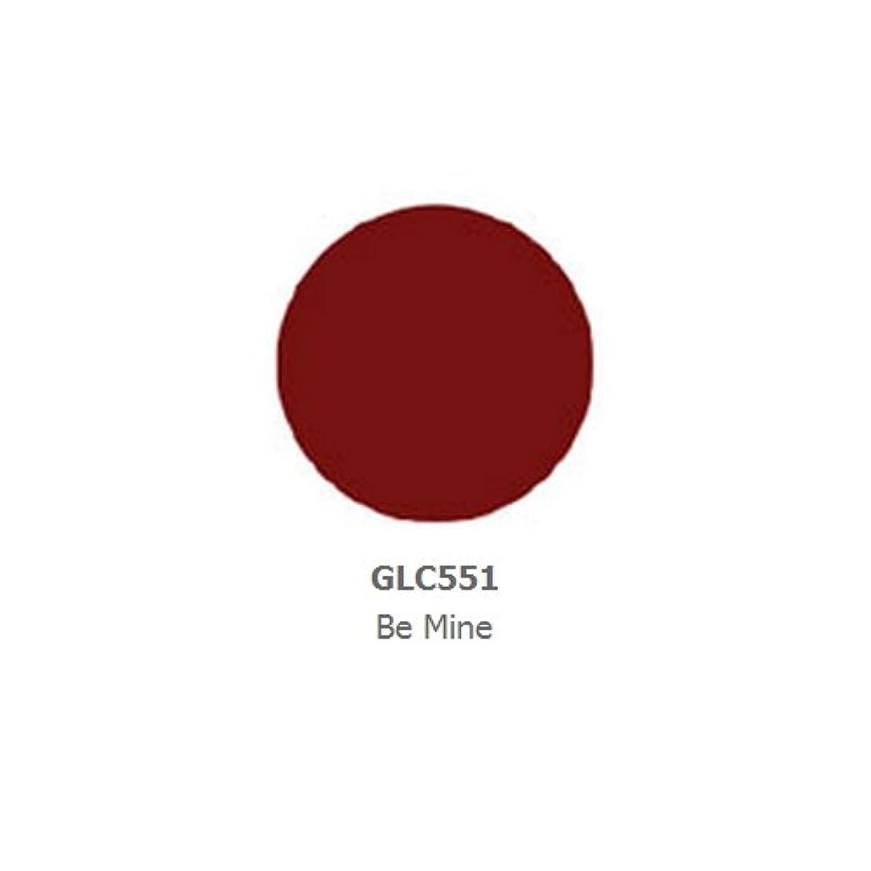 小数前者言い訳(6 Pack) LA GIRL Luxury Creme Lip Color - Be Mine (並行輸入品)