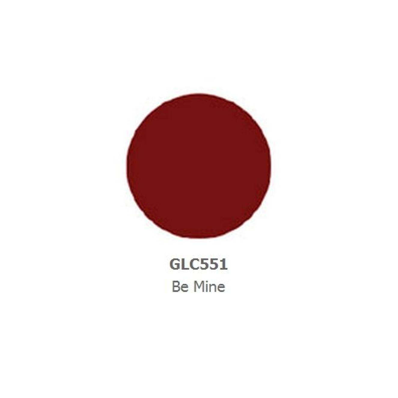 送信する現実的効果的LA GIRL Luxury Creme Lip Color - Be Mine (並行輸入品)