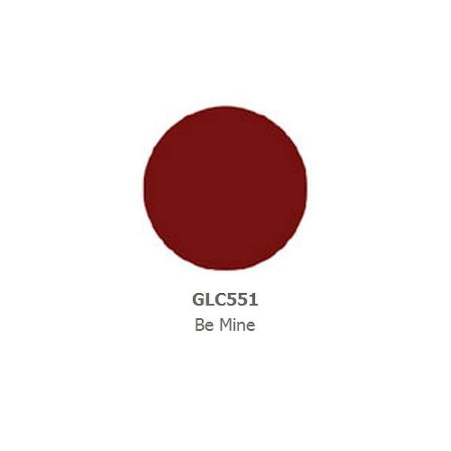 血まみれ囚人肌寒い(6 Pack) LA GIRL Luxury Creme Lip Color - Be Mine (並行輸入品)