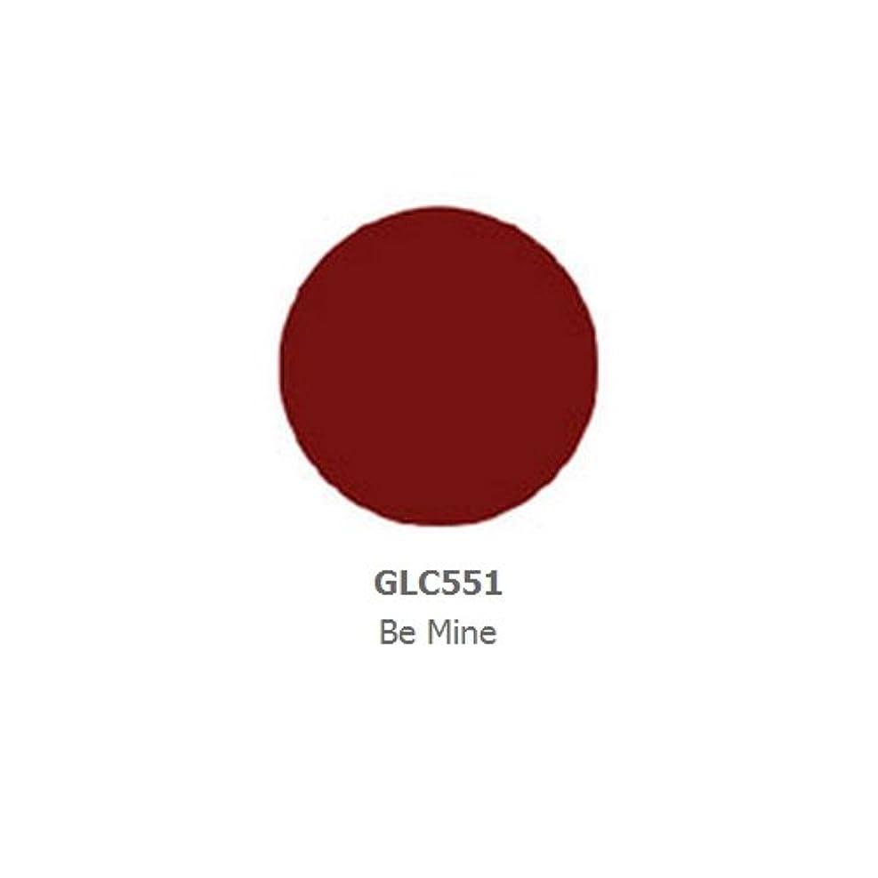 ヒューズ薄暗いために(3 Pack) LA GIRL Luxury Creme Lip Color - Be Mine (並行輸入品)