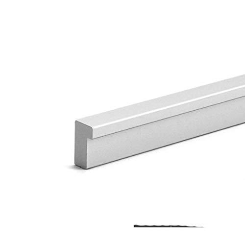 American Long Gabinete Manillas de puerta 1200 mm cepillado oro plata barra T de aluminio tiradores de cajón perilla de muebles hardware