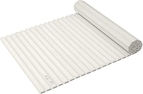 パール金属 風呂 ふた シャッター式 ホワイト M11 幅70 長さ112.2 cm スタイルピュア HB-3790