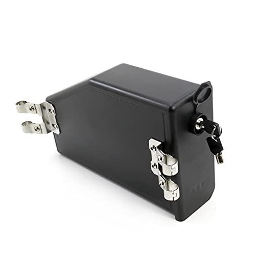gis Caja De Herramientas Ajuste para BMW R1200GS LC Adventure R 1200 GS 2014-2019 Caja De Herramientas R1250GS F750GS F850GS R1250GSA Caja Impermeable Decorativa (Color : Black)