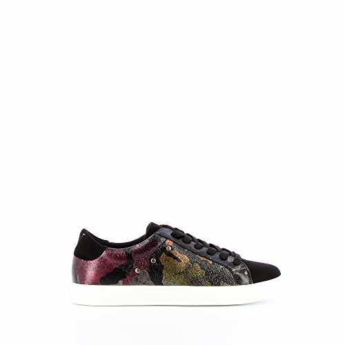 Vanessa Wu – Sneaker schwarz bedruckt Army Damen – Schwarz – 40