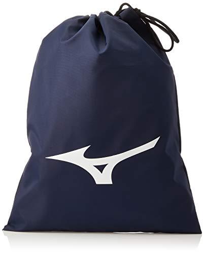 Mizuno J1GZ1804 Shoe Bag (L) Drawstring Bag , Navy