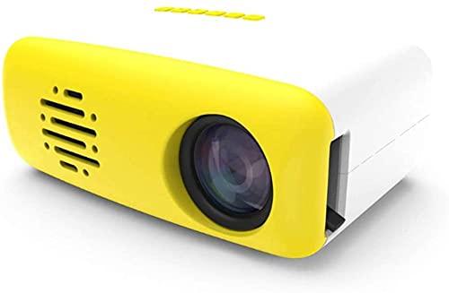 Proyector Portátil Proyector con 1200 lúmenes y Full HD 1080P 50000 Horas Life Life LED LED Proyector de Video Compatible con HDMI/USB/HD/SD/AV/VGA para el Cine en casa (sin WiFi) Impro