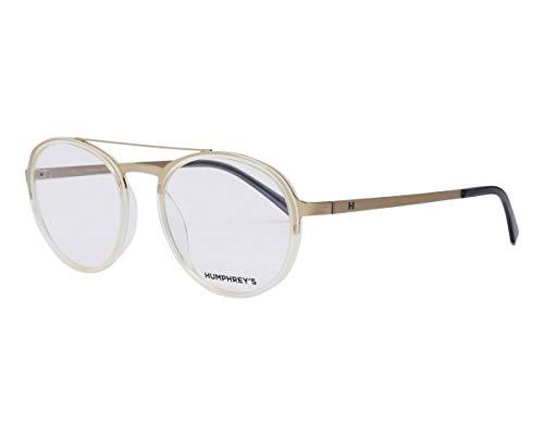 Humphrey's Brille (581089 80) Plastik - Metall gold kristall