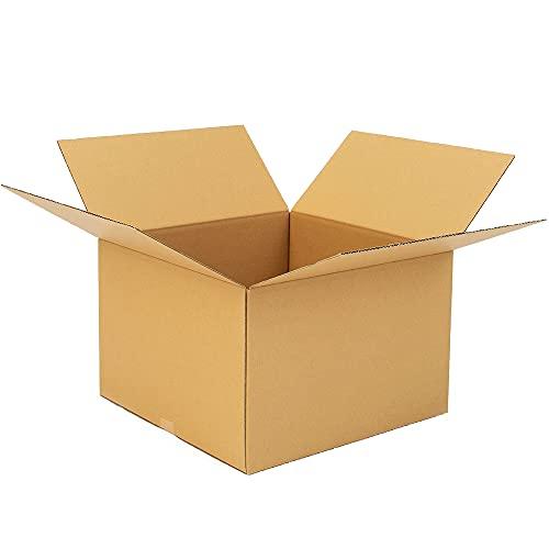 ボックスタウン ダンボール(段ボール箱)140サイズ10枚入り 【49×49×高さ32�p】引越し・配送・保管用DB-14004S(10) 強化材質