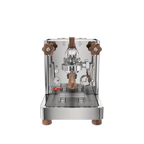 Lelit PL162T Bianca, Macchina da caffè Professionale Dual Boiler con Gruppo Tipo E61, Paddle e LCC per gestire i Tutti parametri, 2800 W, 2.5 Litri, Acciaio Inossidabile