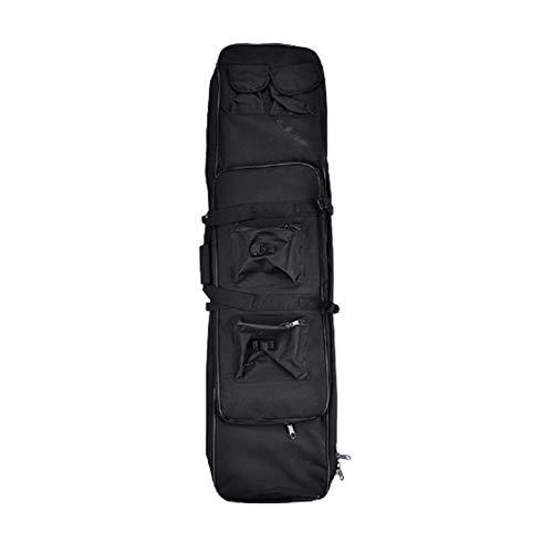 HNWTKJ Rifle Bag, Tactical Long Rifle Pistol Gun Case, Lockable Pouches Compartments, Robust und Wasserdicht, Verfügbar für Magazinspeicher und andere Werkzeuge (Color : B, Size : 120cm/47.2in)