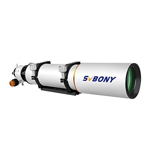 Svbony SV503 ED Telescopio, Rifrattore Acromatico 102F7, Rifrattore a Dispersione Extra Bassa OTA per Astrofotografia e Visuale