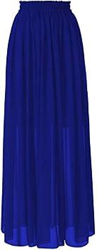 Best royal blue maxi skirt Reviews