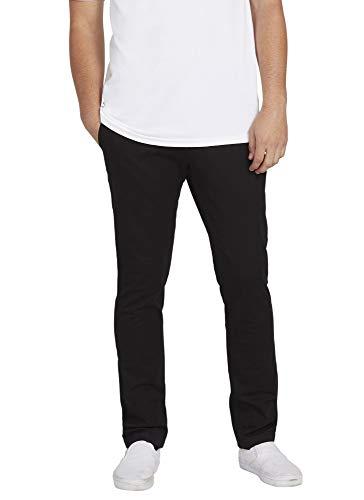 VOLCOM Men's Frickin Slim Chino Pant, Black, 34