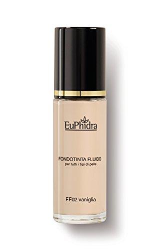 FF02 VANIGLIA FONDOTINTA FLUIDO spf25 Copertura effetto mat naturale Per tutti i tipi di pelle 30ML