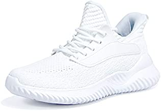 Akk White Sneakers for Women Walking Shoes Comfortable Lightweight Womens Work Casual Tennis Shoes for Gym 8 US White