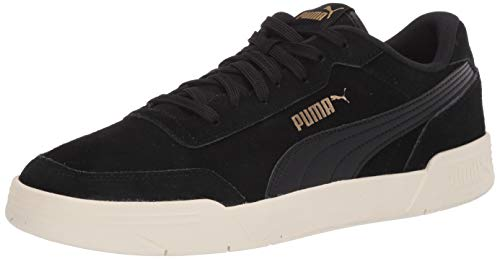PUMA Men's Caracal Sneaker, Black Black, 10.5