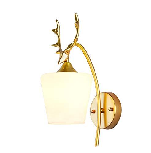 Creatief gewei Nachtlamp, persoonlijkheid LED huiskamer Achtergrond muur wandlamp, Scandinavische stijl