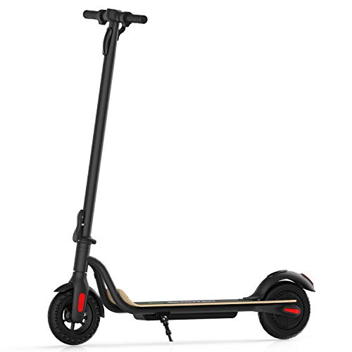 Electric Scooter, 3 Gears, Max Speed 25 km/h, 22 KM Powerful Battery with 8'' Tires Foldable Electric Scooter for Adults, Max Load 100KG Color Black