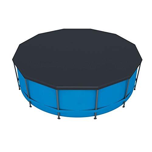 Lonas Para Piscinas Cubierta de piscina de PVC redonda de 10 pies 305 cm para cubierta de polvo al aire libre redonda duradera a prueba de polvo a prueba de polvo cubierta resistente a la resistencia
