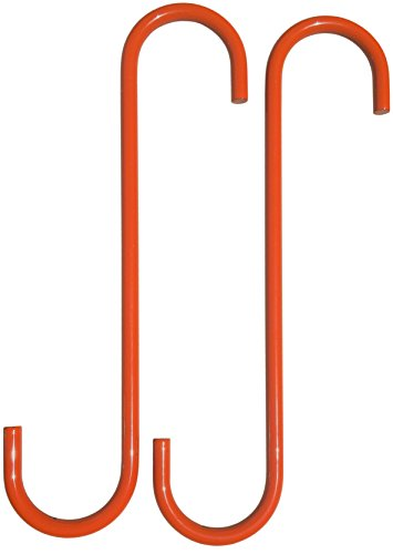 -Safety Orange- Powder Coated Brake Caliper Hanger Hook (2 Piece Set) -MADE IN THE USA-