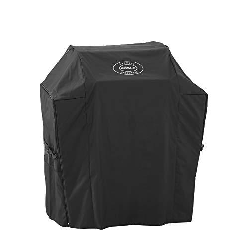 RÖSLE Abdeckhaube BBQ-Station VIDERO G3/G3-S, Hochwertige Schützhülle aus 100% Polyester mit PU-Beschichtung, praktischer Reißverschluss, wetterfeste Abdeckung