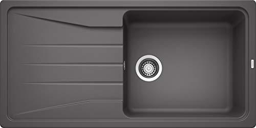 Blanco Sona XL 6 S, Küchenspüle, Silgranit Puradur, felsgrau, reversibel, 1 Stück, 519690