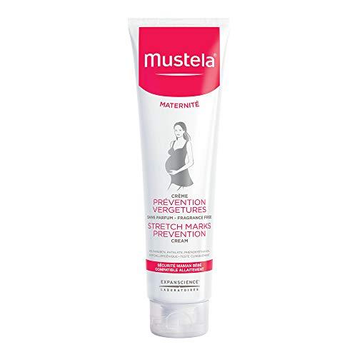 Creme Prevenção de Estrias Para Gestantes, sem Perfume, Mustela Maternité, Vermelho, Médio/150 ml