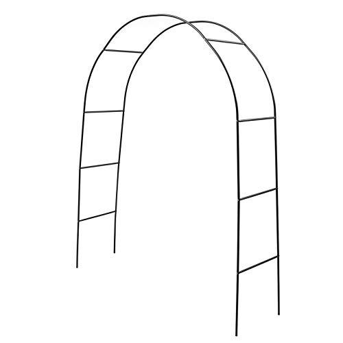 YARNOW Arco de La Boda de Metal Jardín Arbor Trellis Interior Al Aire Libre Metal Ensamblar Libremente Arco para La Planta Trepadora Fiesta Nupcial Decoración del Jardín Pergola Arbor