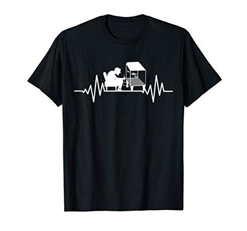 Aquarium Fische Aquarien deko Aquaristik Herzschlag Aquarium T-Shirt