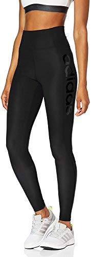 adidas Design 2 Move High-Rise Logo, Leggings Donna, Nero/Nero, XS