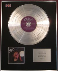 BOB SEGER & THE SILVER BULLET BAND CD Platinum Disc- NIGHT MOVES
