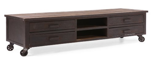Hot Sale ZUO ERA Fort Mason Entertainment Stand, Distressed Natural