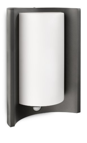 Philips 164059316 Applique lumineuse Meander avec détecteur de mouvements infrarouge, pour utilisation en extérieur, 1 ampoule de 20 W (incluse)