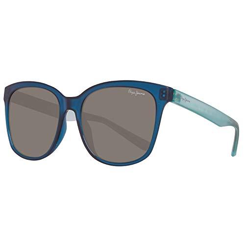 Pepe Jeans PJ7290C454 Sonnenbrille PJ7290 C4 Edna Schmetterling Sonnenbrille 54, Blau