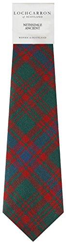 I Luv Ltd Gents Neck Tie Nithsdale Ancient Tartan Lightweight Scottish Clan Tie