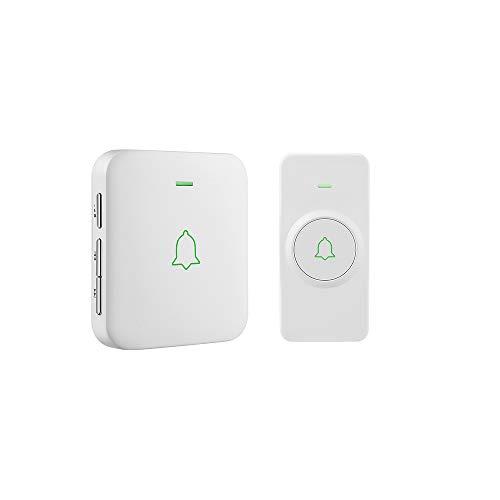 Wireless Door Bell, AVANTEK CW-11 Mini Waterpoof Doorbell...