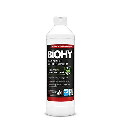 BiOHY Limpiador de vitrocerámica (1 botella de 500ml)   Cocina...