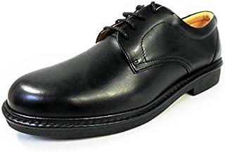 [リナシャンテバレンチノ] 本革 プレーントウ ビジネスシューズ ワイズ4E 黒 27.5cm、28cm(28.0cm) 29cm(29.0cm) 30cm(30.0cm)【大きいサイズ(ビッグサイズ) メンズ 革靴 紳士靴】