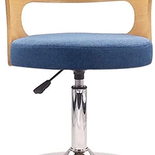 Eortzxk Taburetes de Bar, Taburetes de Barras de Altura Ajustable para sillas de Barras de Barras Silla de Barra de Tela Diseño ergonómico Sala de Estar Taburete Sala de Estar Estable y Fácil
