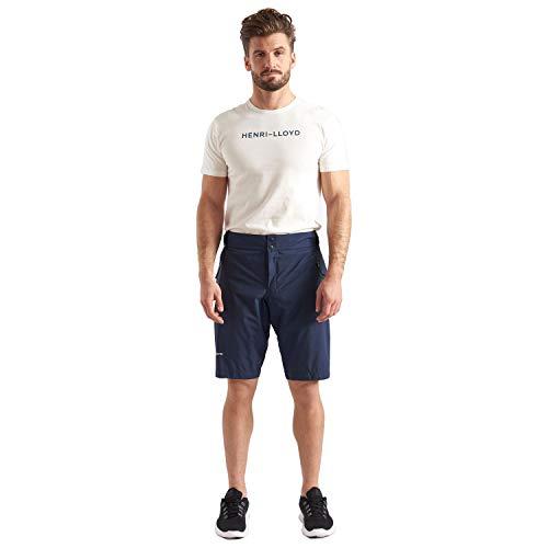 Henri Lloyd M-Race da Uomo Gore-Tex Sailing Yachting e Dinghy Sailing Nautica Sport Acquatici Pantaloncini - Navy - Traspirante