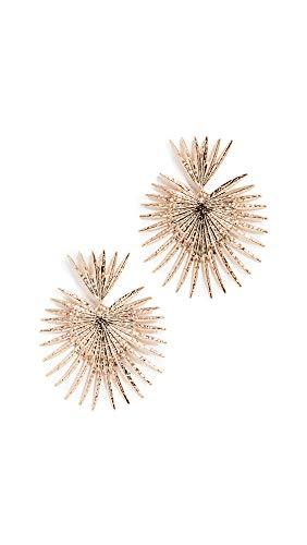 Shashi Women's Throne Earrings, Yellow Gold, One Size