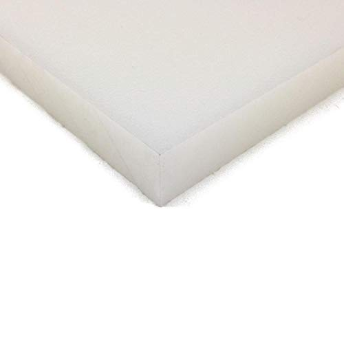 """Cutting Board Sheet, Food Grade HDPE, Natural (White), 3/8"""" (0.375"""") Thick, 24"""" W x 30"""" L"""