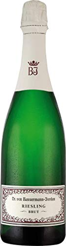 Bassermann-Jordan Riesling Sekt Brut extra dry (0,75 L Flaschen)