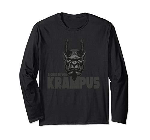 A Gruass vom Krampus - Grüße vom Krampus zu Weihnachten Langarmshirt