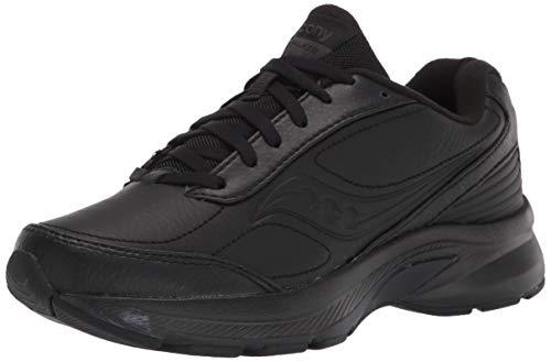 Saucony Men's Omni Walker 3 Walking Shoe, Black, 9 Wide