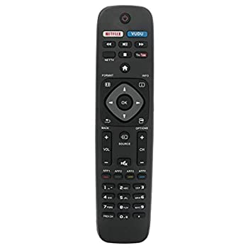 NH500UP Replace Remote fit for Philips TV 50PFL5601/F7 65PFL5602/F7 55PFL5602/F7 50PFL5602/F7 43PFL5602/F7 32PFL4902/F7 40PFL4901/F7 43PFL4901/F7 50PFL4901/F7 43PFL4902/F7 65PFL6902/F7 55PFL6902/F7