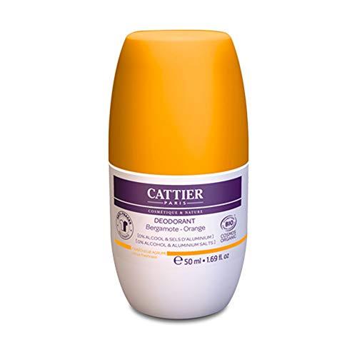 Cattier Desodorante Frescor Citrico 24H Roll-On 50 ml 500 g